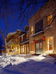 Between 1832 when it began as a boarding house and today when it is a chic small hotel,  the Little Inn of Bayfield in Bayfield, Ontario, has had centuries of guests.