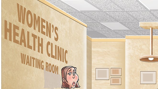 Guys, women can make their own health care decision.