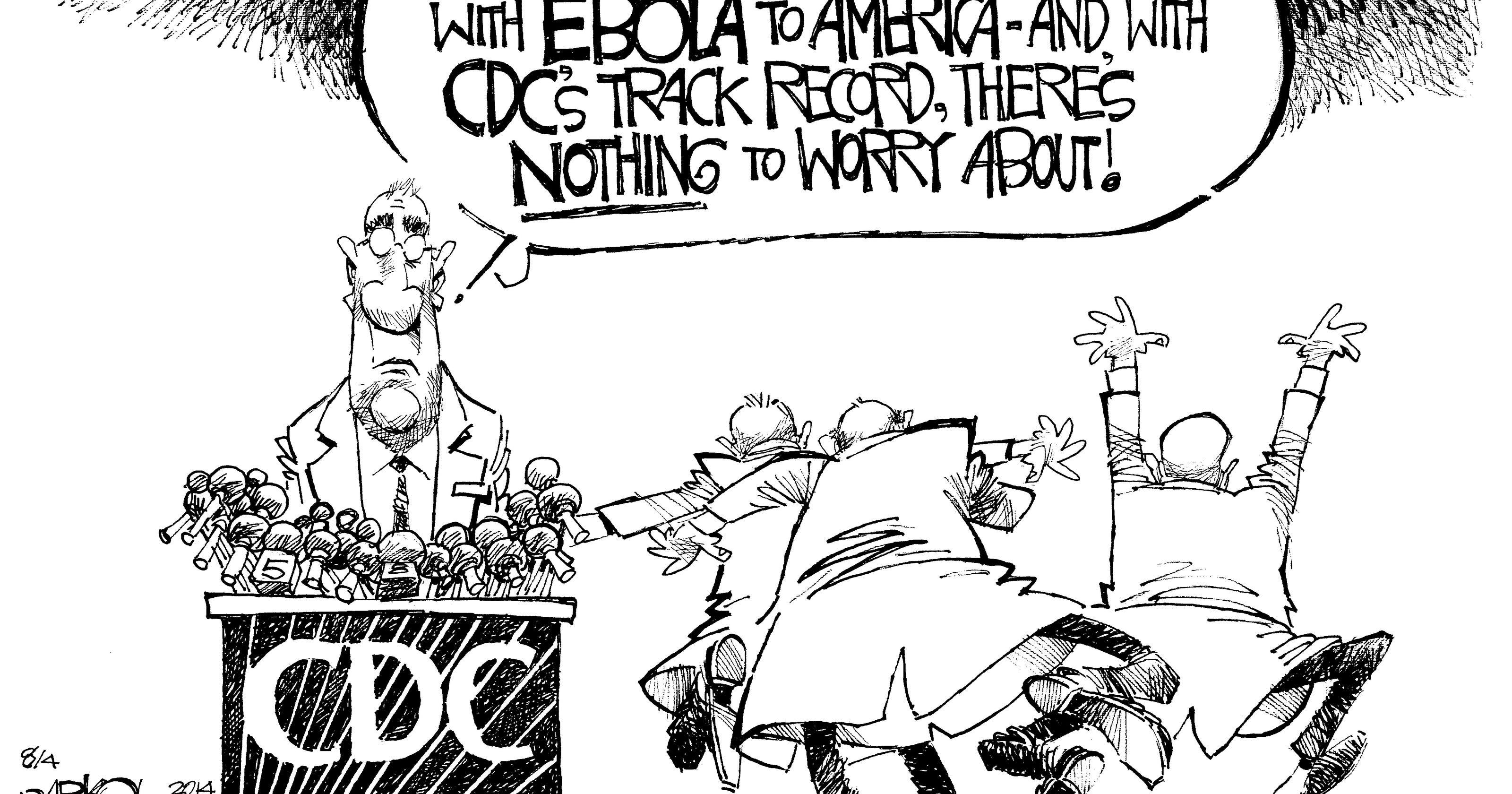 CARTOON: Ebola and the CDC