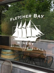 The new Fletcher Bay Winery tasting room location on Winslow Way.