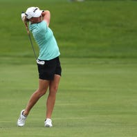 LPGA Volvik Championship: Stacy Lewis crashes leaderboard ... with child