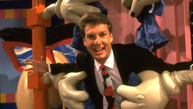"Marc Summers from Nickelodeon's ""Double Dare."""