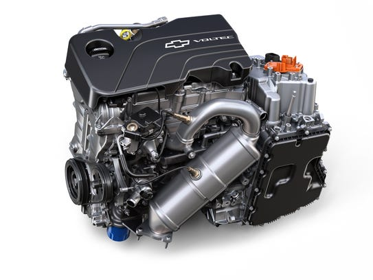 2017 Chevrolet Volt 1.5L 4-cyl. engine and electric