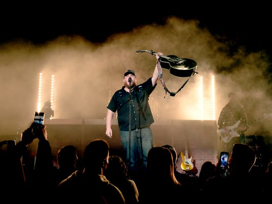Luke Combs Debuts At The Ryman Auditorium On The 'Don't Tempt Me With A Good Time Tour' - Nashville, Tenn.