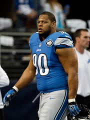 Using the franchise tag on Ndamukong Suh is an option for the Lions -- a very expensive option.