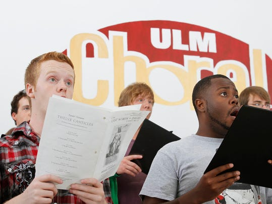 ULM Choral Rehearsal