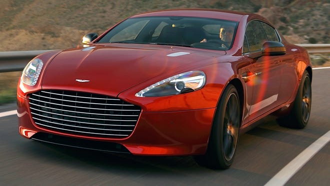 Aston Martin's Rapide could go electric.