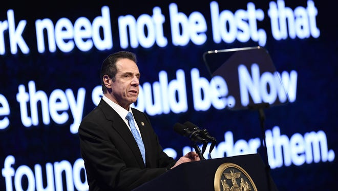 New York Gov. Andrew Cuomo on Wednesday called for changes in the state's Medicaid system during his State of the State address at the Empire State Plaza Convention Center in Albany.