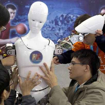 China pledges to take lead in technology race