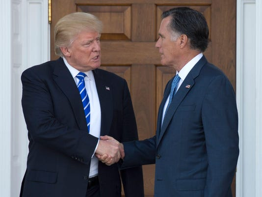 FILES-US-POLITICS-ROMNEY-TRUMP