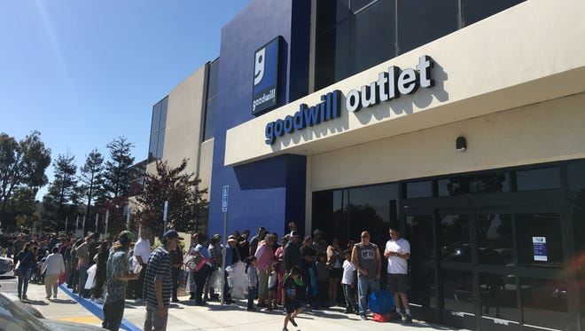 The Goodwill Central Coast's The Bargain Barn recently moved to 1566 Moffett St. in Salinas after four decades in Santa Cruz.