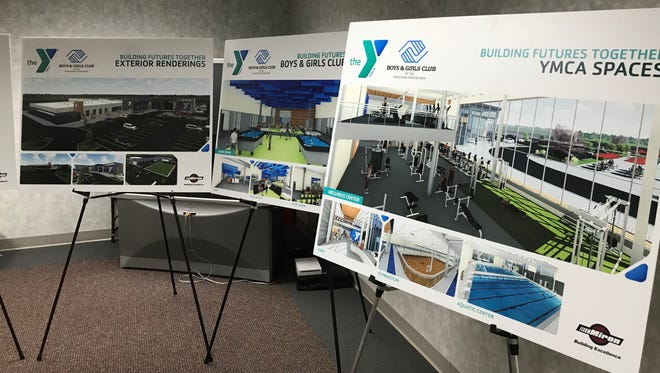 Renderings for the new South Wood County YMCA and Boys & Girls Club of the Wisconsin Rapids Area were unveiled Monday.