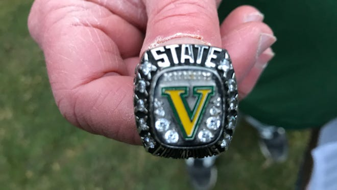 To the victors go the rewards, as in, a 2017 Class A state championship ring.