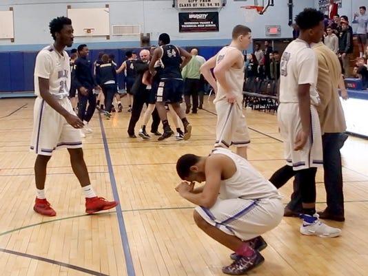 Saunders vs. Lourdes basketball