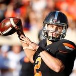Oklahoma State quarterback Mason Rudolph