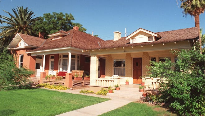 Built in the early 1900s, this home is one of the homes you can tour on the Roosevelt Action Association Home Tour.