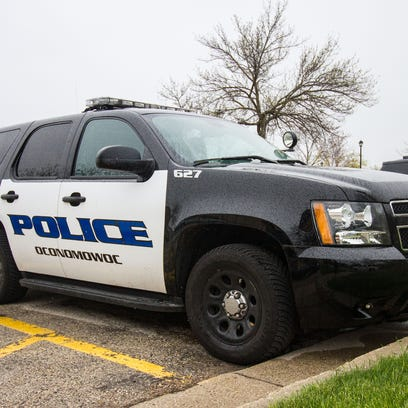 Oconomowoc police are searching for two men who stole drugs from a Walgreen's pharmacy