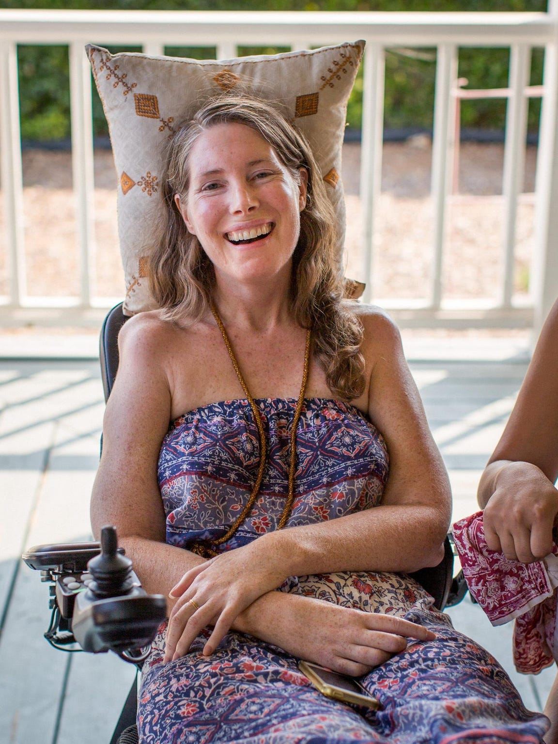 Betsy Davis, 41, ended her life on July 24 after a three-year struggle with ALS.