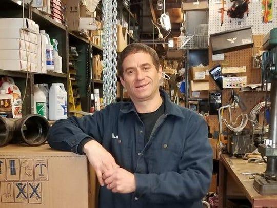 Jeff Metchick at Sniderman's Hardware.