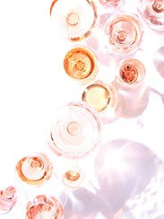 Rosé wines are tasty year round.