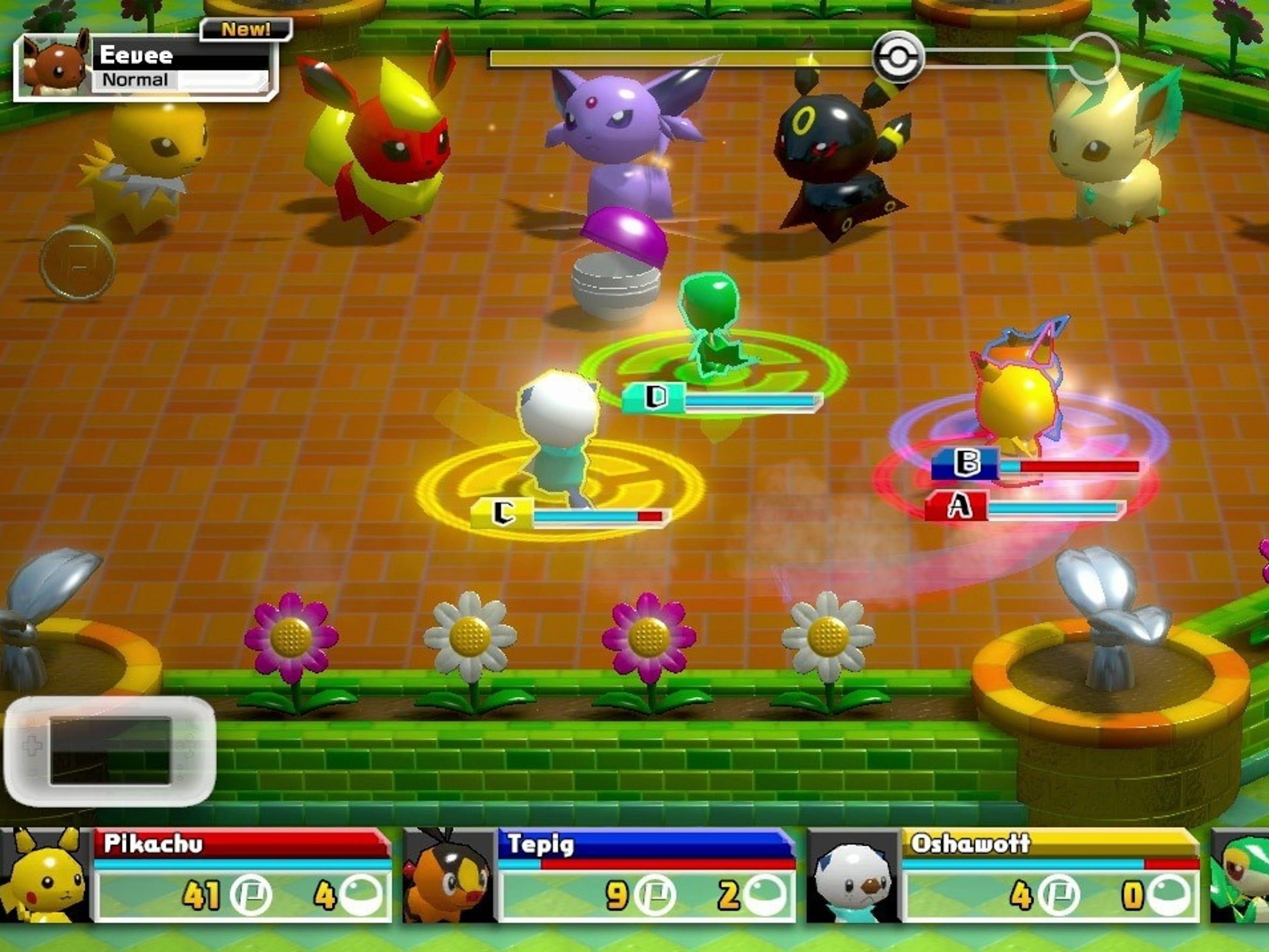 Pokemon Rumble World.