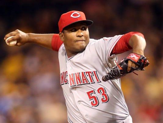 MLB: Cincinnati Reds at Pittsburgh Pirates