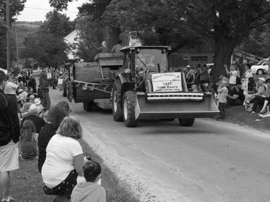 #9 tractor parade