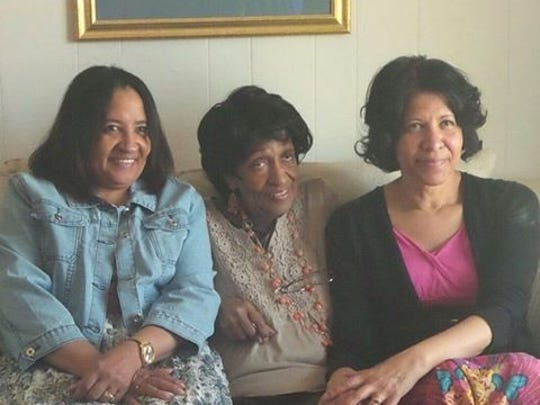 Kathy Ragland (from left), Patricia Mays and Kristine Seals.