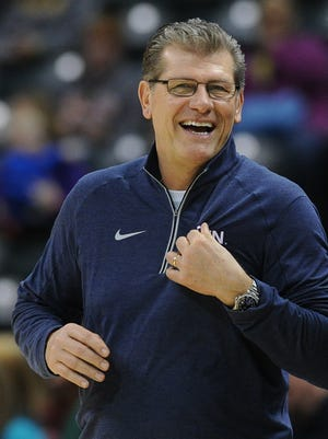 Connecticut coach Geno Auriemma sets the standard in women's basketball.