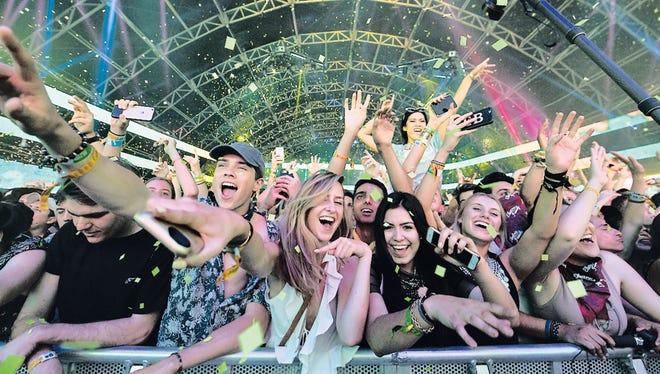 Coachella festival.
