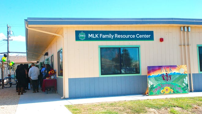 The new Alisal Family Resource Center, situated at Martin Luther King Elementary School, 925 N. Sanborn Ave. in Salinas. The center officially opened Friday with a ribbon-cutting ceremony.