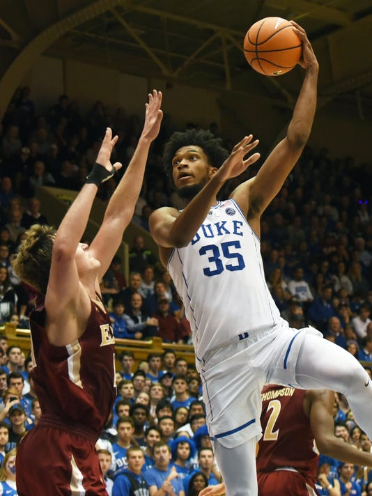 NCAA Basketball: Elon University at Duke