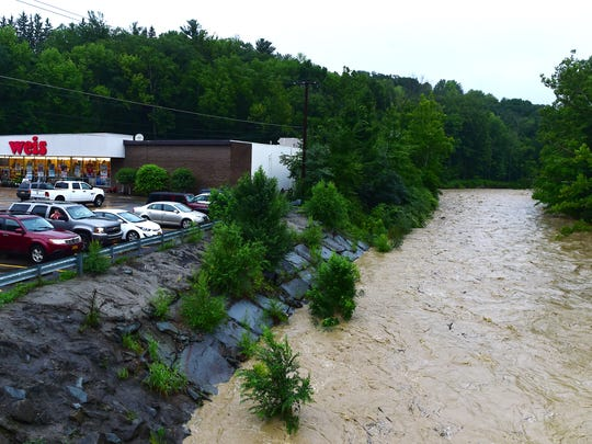 Concerns over Choconut Creek flooding prompted officials