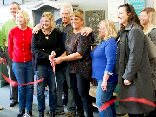 A ribbon cutting launched the festive grand opening