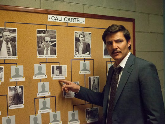 Pedro Pascal stars in Sseason 3 of 'Narcos' on Netflix.