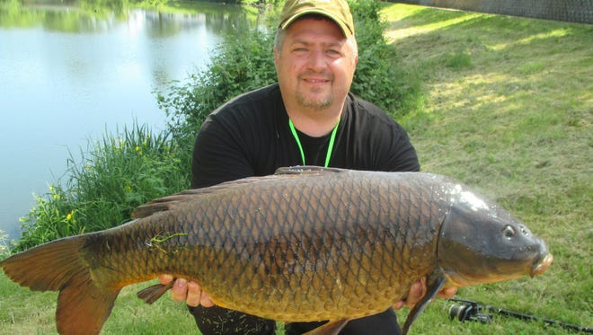 """""""Almost anywhere you go, there's going to be carp, and nobody fishes for them. And it's generally going to be the biggest fish in the lake,"""" said Ron Nathlich of Hillsboro about his passion for European-style carp fishing."""