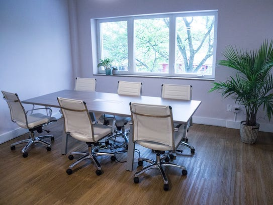 Women can work next to each other in this space, which