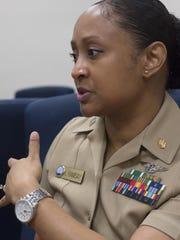 Navy nurse, Lt. Kristel Ramsay, describes her career