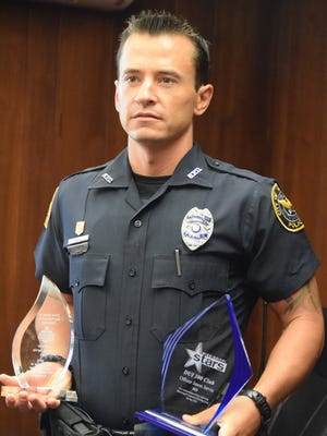 Hattiesburg police officer Jason Jarvis recently won two awards for getting impaired drivers off the streets.