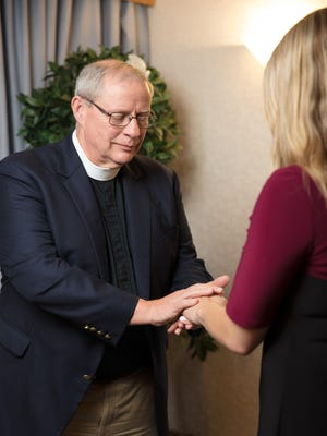 The Rev. Robert M. Bruckart, aka 'Father Bob,' is Director of Pastoral Care for Health First.