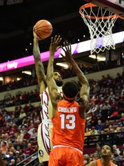 After facing many injuries, senior forward Phil Cofer has evolved into one of the Seminoles' most dominant players