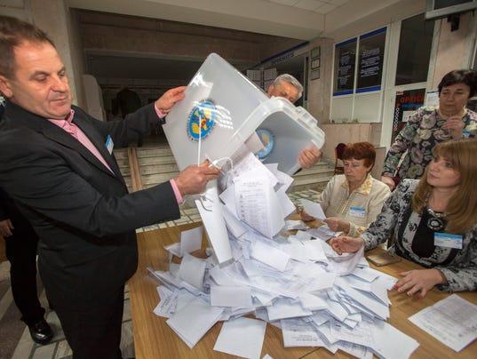 EPA MOLDOVA PRESIDENTIAL ELECTIONS POL ELECTIONS MDA