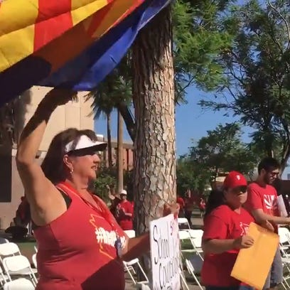 #RedforEd: Arizona educators back to Capitol to rally for school funding