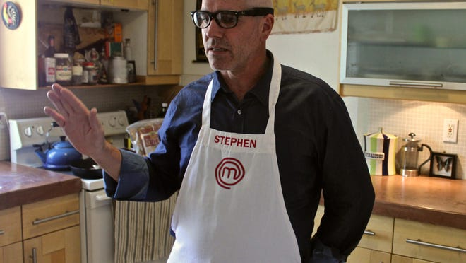 """Palm Springs resident Stephen Lee talks about his experience as a contestant of the sixth season of FOX's """"MasterChef,"""" on Sept. 14, 2015. One of the three finalists, Lee will be on television on Wednesday for the show's season finale."""