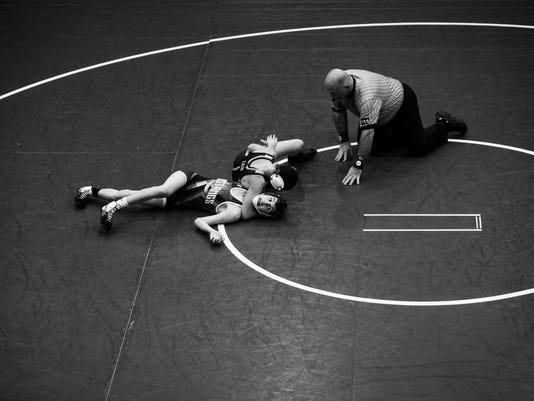 Powdersville vs. Palmetto wrestling