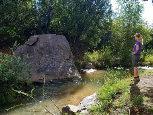 Petroglyph Trail Anna