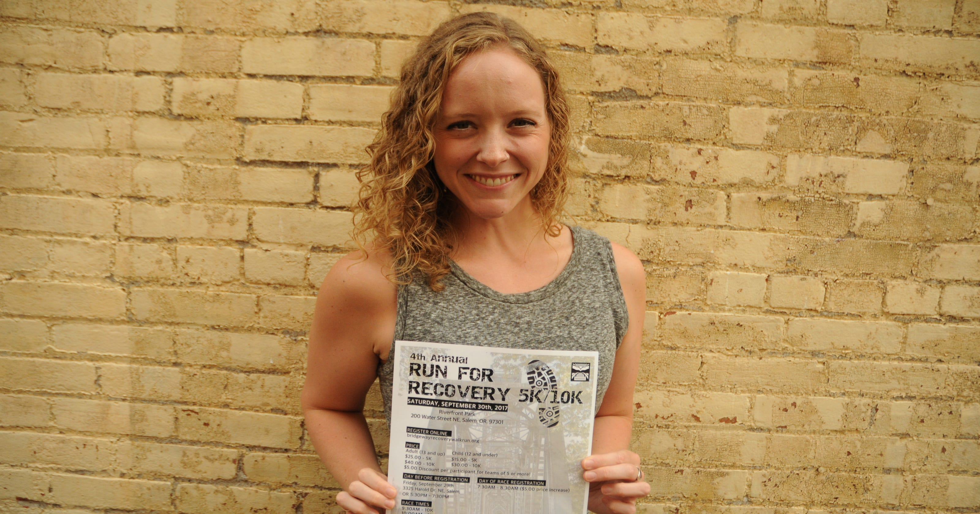 take part in bridgeway recovery services 4th annual run for recovery
