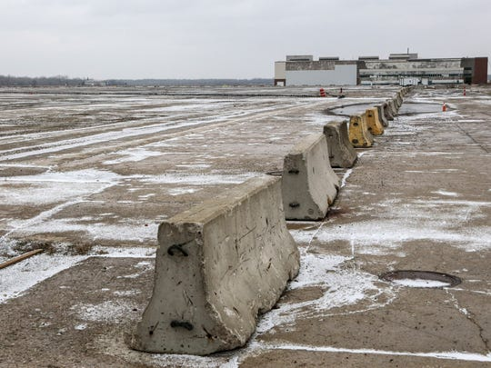 Land at the former 335-acre Willow Run site in Ypsilanti