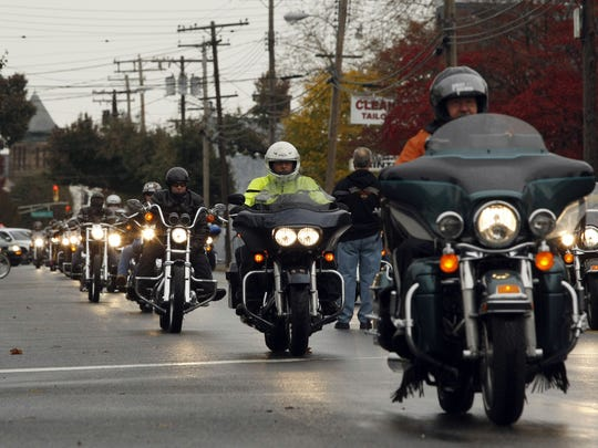 2nd Annual Motorcycle Ride from Harley Davidson of Long Branch to the Vietnam Veteran's Memorial in Holmdel.