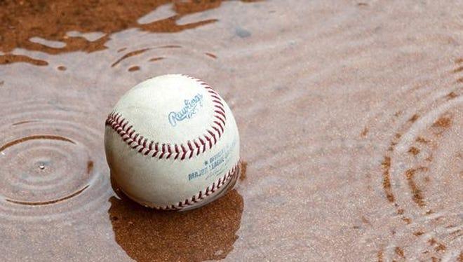 Rain baseball
